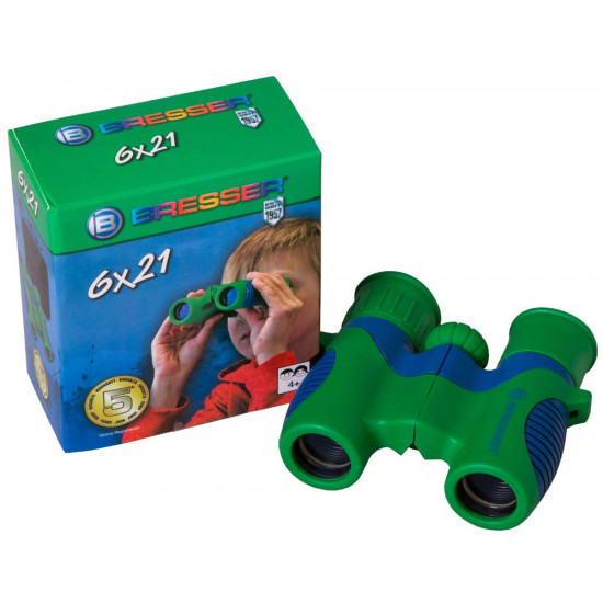 Bresser Junior 6x21 Binoculars for children